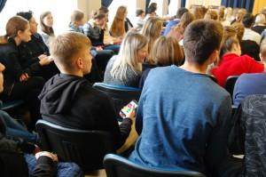 """PROJEKTAS ,,TUK TUK ŠIRDELE – BŪK SVEIKA!"""" 2017 Vilniaus Gabijos gimnazija (12)"""