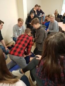PROJEKTAS TUK TUK ŠIRDELE – BŪK SVEIKA! 2017 metai fabijoniskiu mokykla (26)