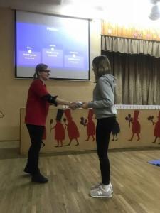 """Projektas ,,Tuk tuk širdele – būk sveika!"""" 2018 m. Vilniaus Šv. Kristoforo gimnazija gaivinimo diena (5)"""