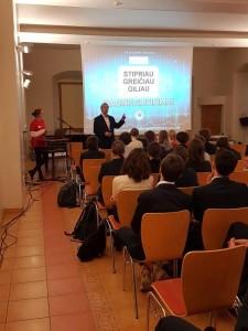 """Projektas ,,Tuk tuk širdele – būk sveika!"""" 2018 m. Vilniaus Jėzuitų gimnazija 11-12d (2)"""