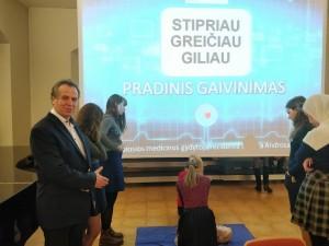 """Projektas ,,Tuk tuk širdele – būk sveika!"""" 2018 m. Vilniaus Jėzuitų gimnazija 11-12d (4)"""
